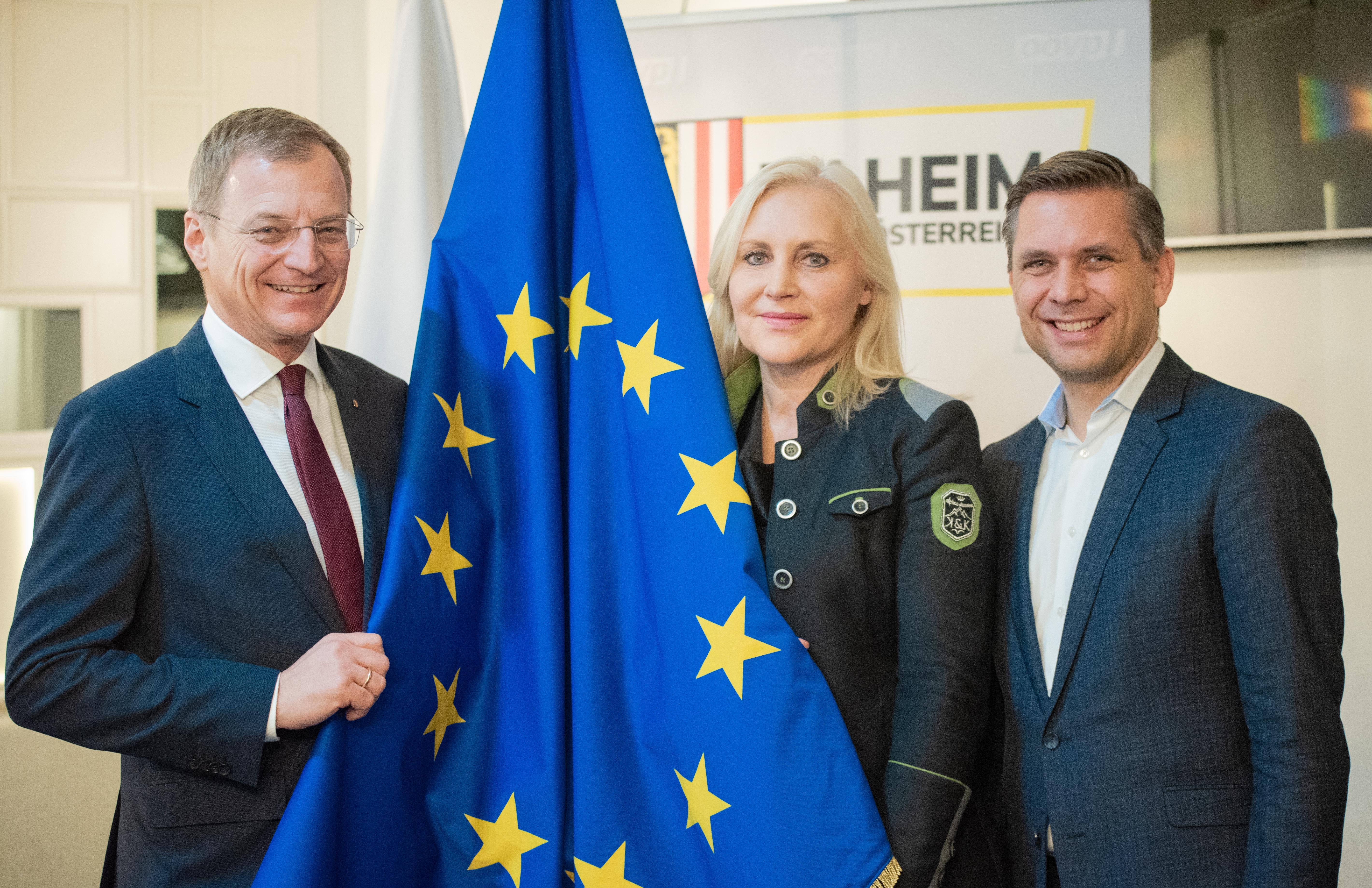 Es geht um Oberösterreichs Interessen in der Europäischen Union