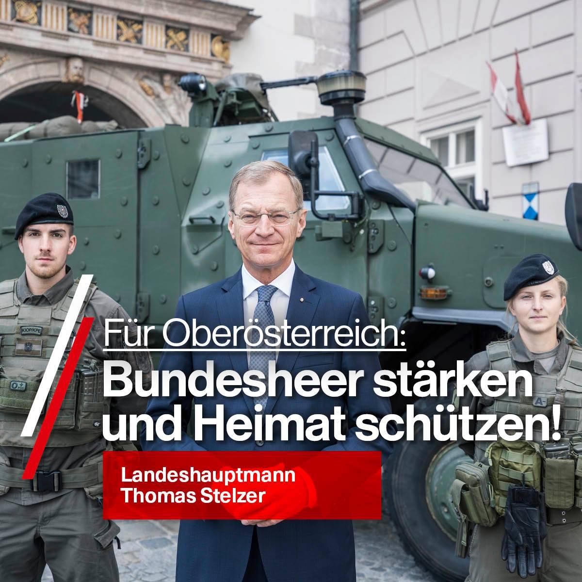 Bundesheer stärken - Heimat schützen.