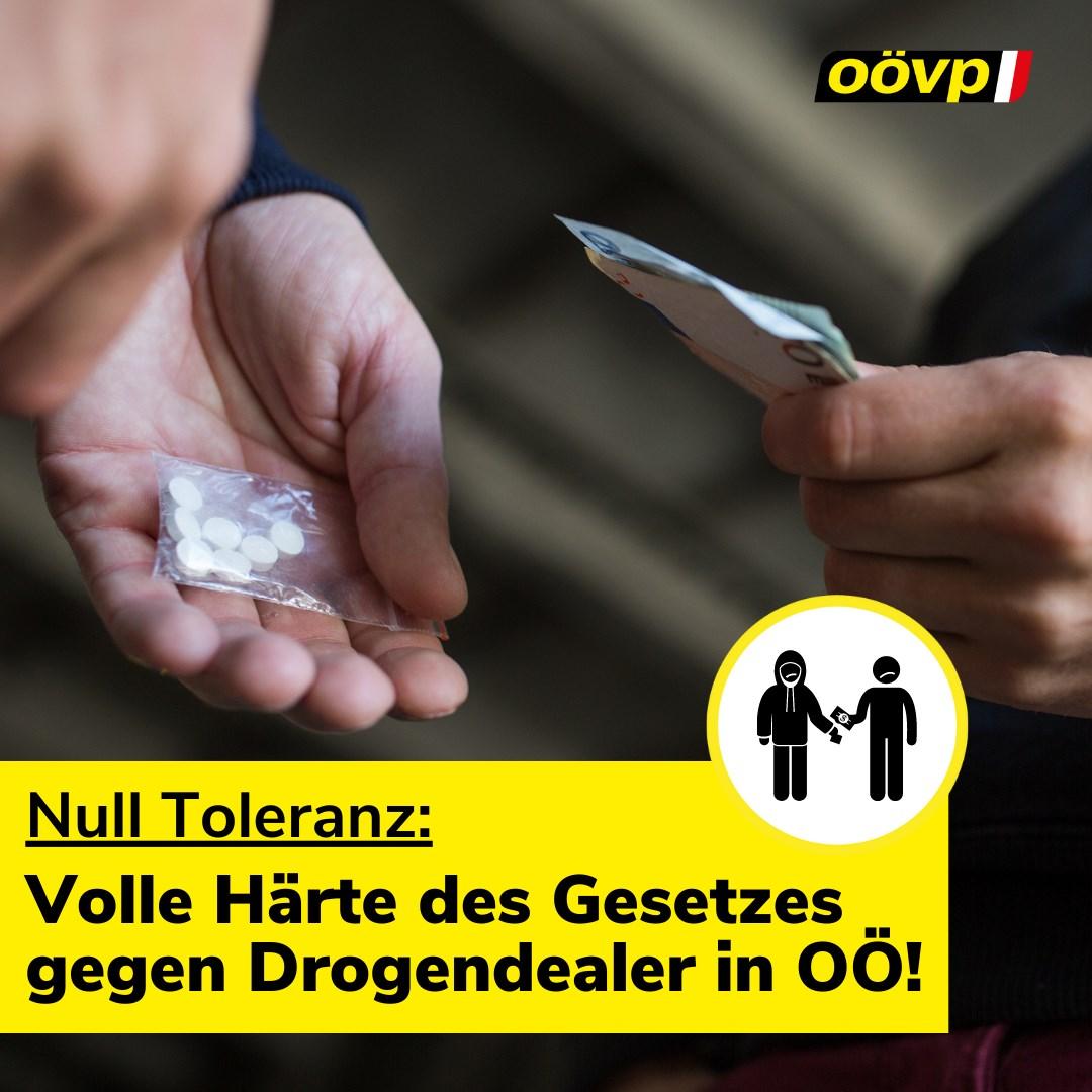 Oberösterreichs Aktionsplan im Kampf gegen Drogen.