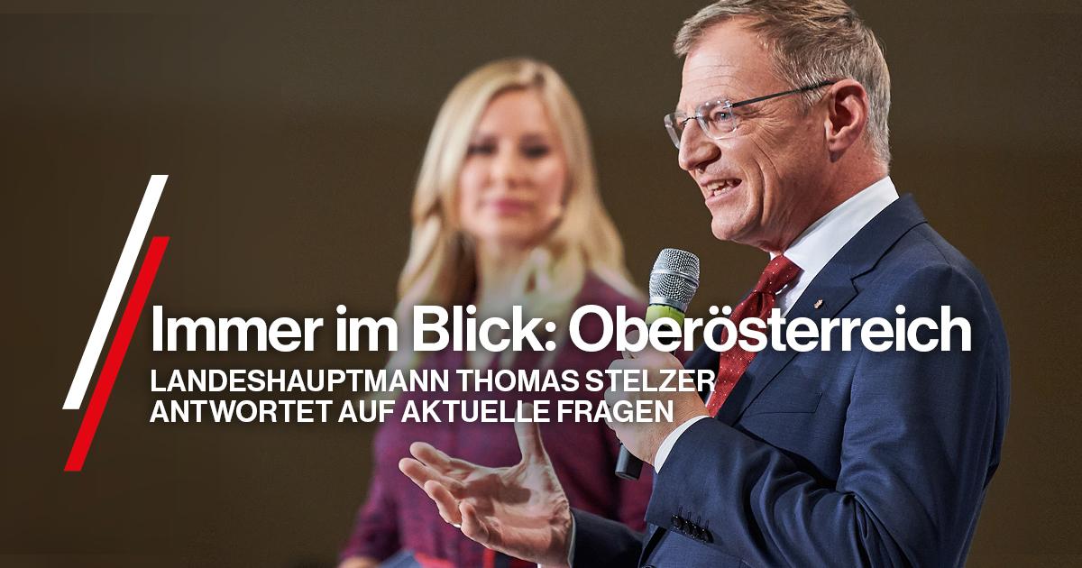 Der Landeshauptmann im Online-Talk.