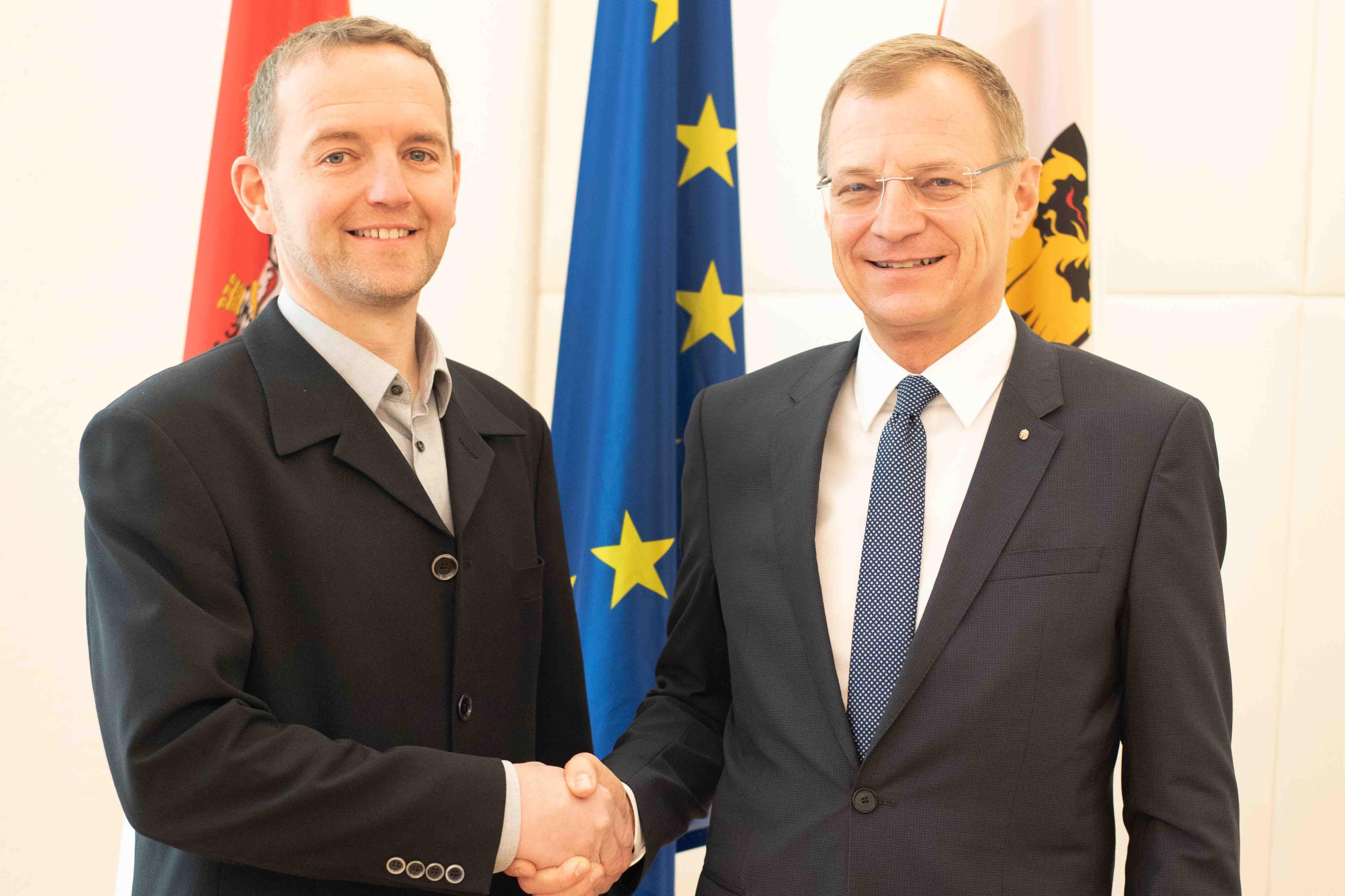 Heinz Oberndorfer wird neuer Bürgermeister von Meggenhofen